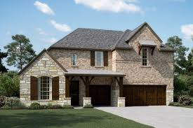 First Texas Homes Hillcrest Floor Plan Trailwood New Homes In Flower Mound Tx