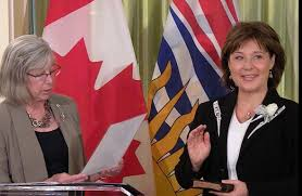 Christy Clark Cabinet Stone In Milobar Out As Premier Clark Names New Cabinet