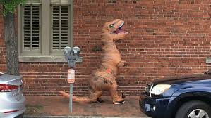 t rex costume charges dropped for charleston woman in t rex costume who scared