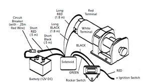 warn atv winch solenoid wiring diagram champion winch wiring