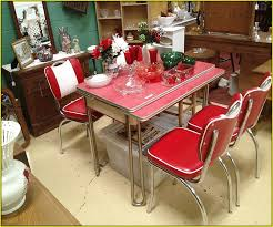 1950s retro kitchen table and chairs home design ideas