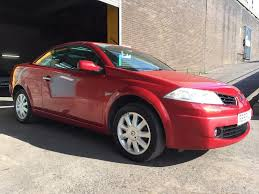 2006 renault megane convertible new 12 month mot service history