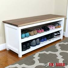 Entryway Bench With Shoe Storage Ikea Bench With Shoe Storage U2013 Amarillobrewing Co