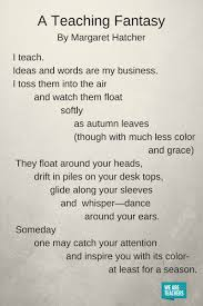 Poem On Halloween 10 Of Our Favorite Poems About Teaching Weareteachers