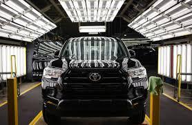 toyota manufacturing toyota profit edges up as weak yen u0027s benefits wear off wsj