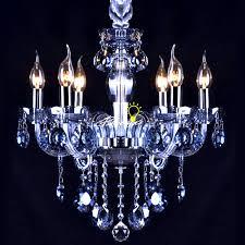 blue crystal chandelier light modern blue crystal tubes and pendant chandelier 8937 free ship