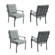 Garden Treasures Bistro Chair Garden Treasures Set Of 2 Eastmoreland Textured Brown Sling Seat