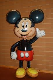 helium delivery mickey mouse airwalker balloon helium filled local delivery buy