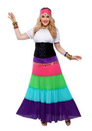 gypsy fortune teller halloween costume womens plus size renaissance gypsy costume