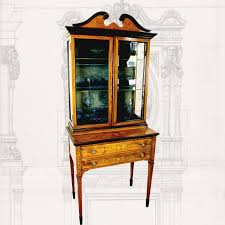 Vintage Display Cabinets Napoleonrockefeller Com Collectables Vintage And Painted Furniture