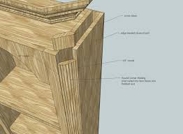 cabinet outside corner molding rounded outside corner moulding construction method within cabinet