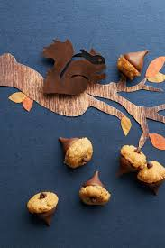 thanksgiving acorn treats 50 homemade halloween treats easy halloween dessert recipes