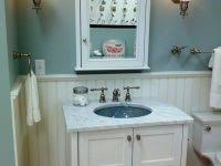 Beadboard For Bathroom Bathroom Makeovers With Wainscoting Elegant Half Bath Remodel With