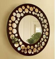 decor wall mirrors 24pcs circle acrylic plastic mirror wall home