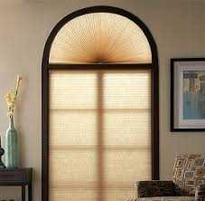 Wood Blinds For Arched Windows Mike U0027s Window Treatments Inc Deanna Cellular Arch