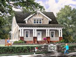 house plan 86121 at familyhomeplans com craftsman plans for narrow