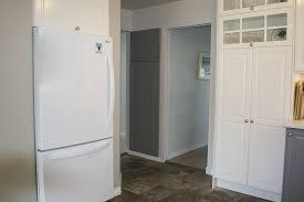 ikea s bodbyn cabinets make a dramatic bodbyn refridgerator white and grey ikea victoria bc