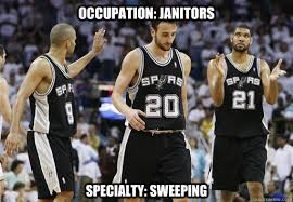 Funny Spurs Memes - occupation janitors specialty sweeping spurs sweep quickmeme