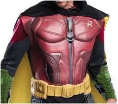 cl250 mens robin muscle chest batman arkham city villain costume