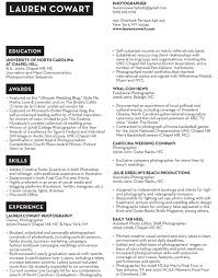 Photography Resume Sample by Resume U2014 Lauren Cowart Photography