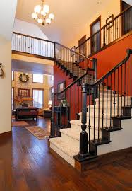 stairway paint ideas staircase contemporary with painted stairs