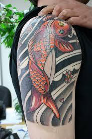 koi fish sleeve designs sleeve designs