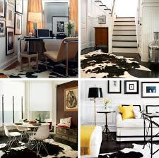 Cowhide Rug In Living Room Skin Is In Add A Cowhide Rug To A Room For Instant Impact