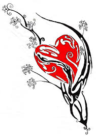 the 25 best tribal heart tattoos ideas on pinterest heart