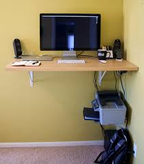 Diy Stand Up Desk Ikea by Bedroom Delectable The Standup Desk Brandon Keepers Shelf For