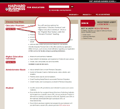 professors register and renew educator premium access u2013 harvard