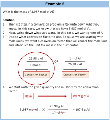 Calculating Molar Mass Worksheet Chapter 6 Quantities In Chemical Reactions Chemistry