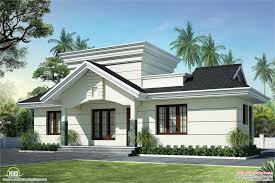 sloping roof house villa design kerala home design and floor
