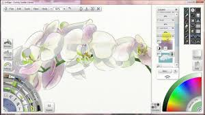 how to paint with watercolors in artrage 6 layer masks and