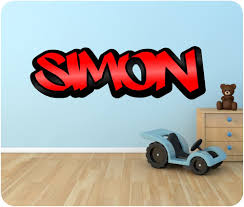 Girls Graffiti Bedroom Wall Decals Winsome Graffiti Name Wall Decals Graffiti Name Wall