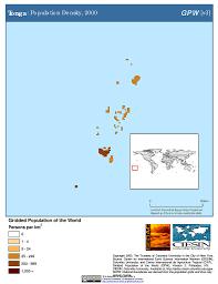 Tonga Map Map Gallery Sedac