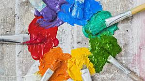 color and paint painting for relaxation joamos