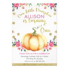 floral 1st birthday invitations u0026 announcements zazzle co uk