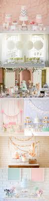 blue accordion paper lanterns idea pastel dessert tables