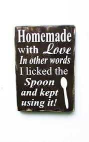 Home Decor Wooden Signs Kitchen Sign Hand Painted Wood Sign Kitchen Decor Funny Kitchen