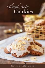 keto glazed anise holiday cookies the ketodiet blog