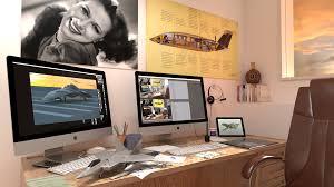 Office Desk Top View Png Mike James Media Rendering In Modo