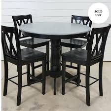 high top dining table for 4 chairs repurposed furniture shop revisit warehouse