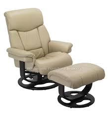 Armchairs Recliners Best Leather Recliner With Ottoman Leather Recliner Chairs