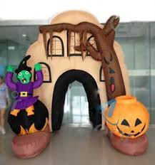 halloween inflatable haunted house inflatable house for party