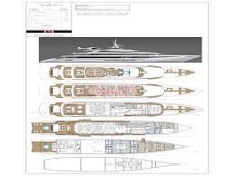 luxury yacht floor plans t4 design by enrico gobbi 75m motor yacht concept for rossi navi