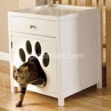 Kitty Litter Bench Furniture Cat Litter Box Cabinet Foter