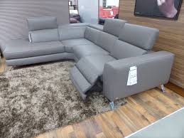 leather electric recliner chaise corner sofa natuzzi editions luca power reclining l h facing chaise sofa