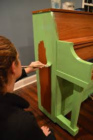green painted piano annie sloan chalk paint east coast