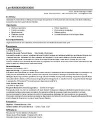 science resume exles resume for mortuary science fungram co