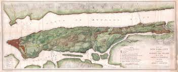 A Map Of New York State by Large Detailed Map Of New York City And Of Manhattan Island With